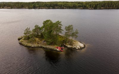Kajaktour in Schweden
