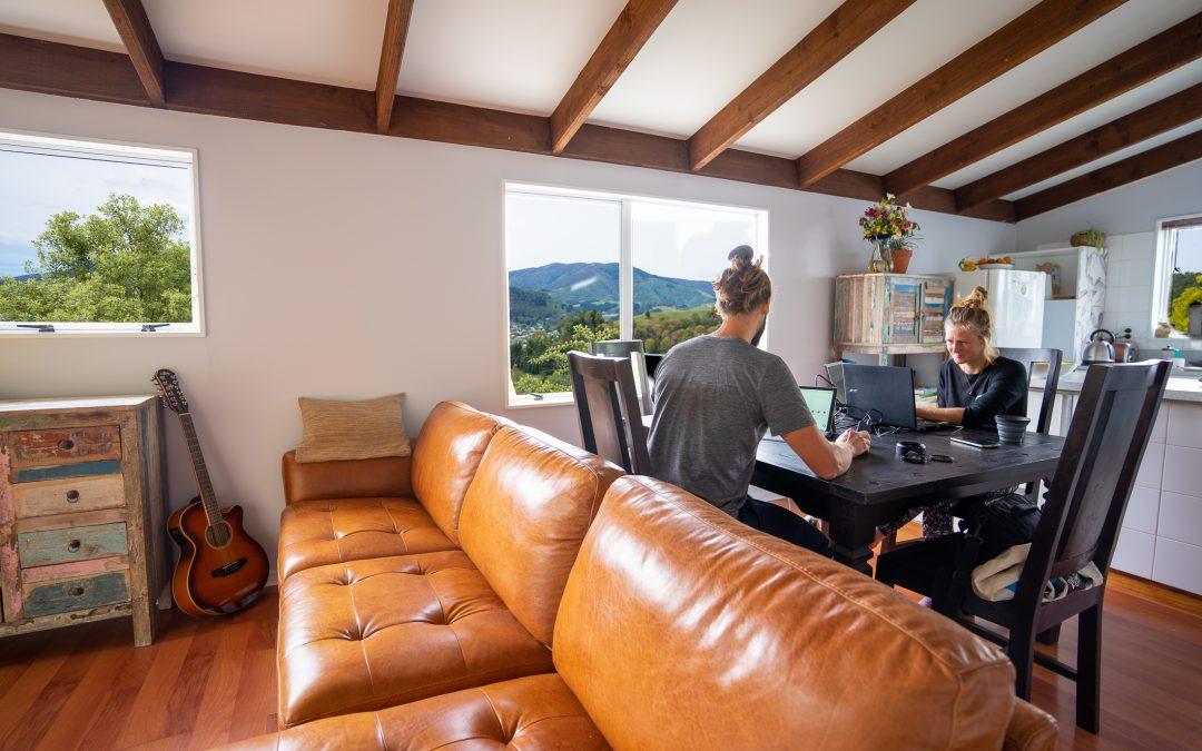 Homeoffice in Neuseeland